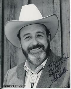 ROBERT-HINKLE-WESTERN-MOVIE-ACTOR-HUD-ANNIE-OAKLEY-SIGNED-PHOTO-AUTOGRAPH