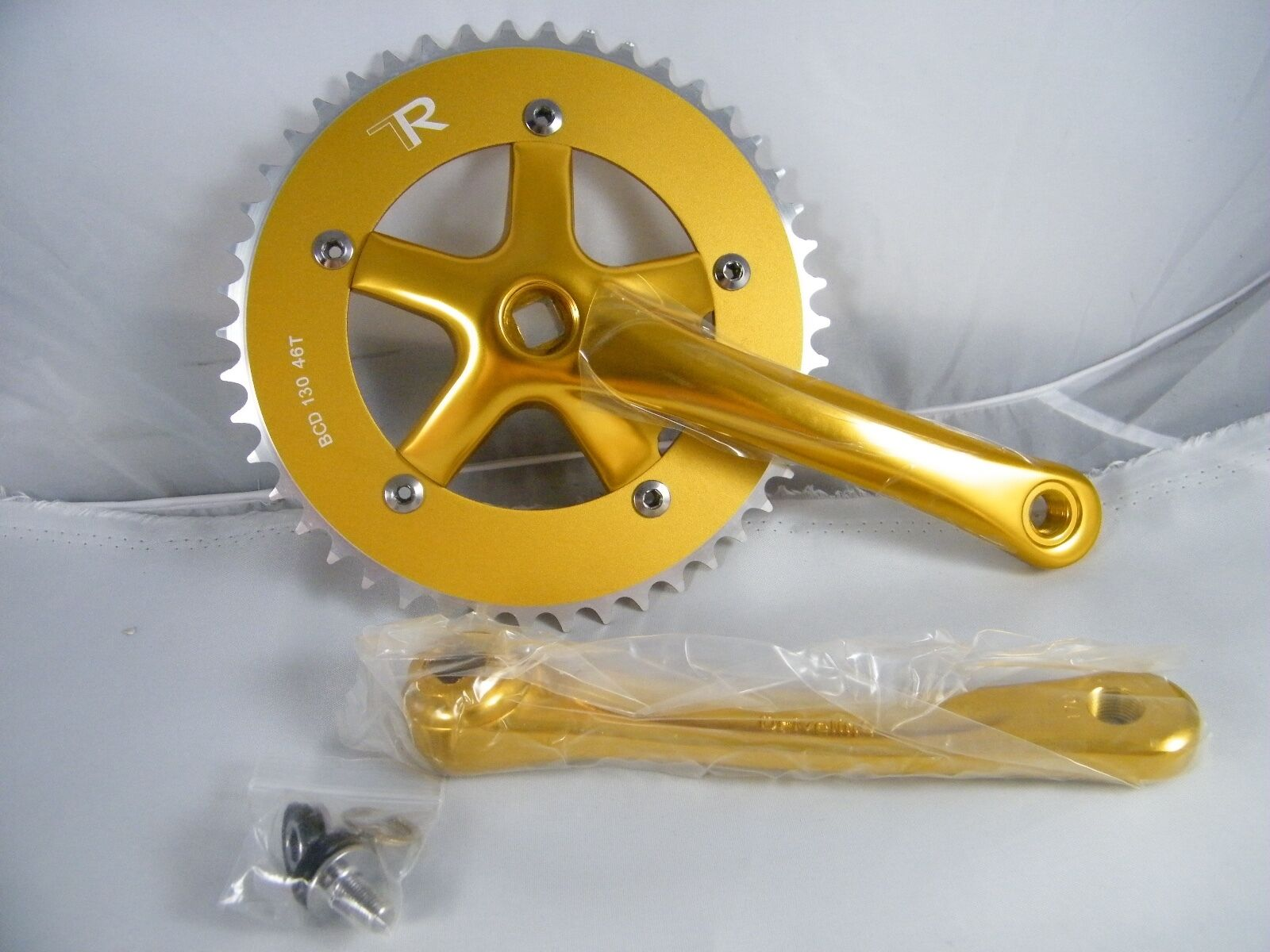NEW  DRIVELINE CRANKSET TK13 170 MM gold  PART DL-TK-170-GD,  BCD 130  46T  buy cheap