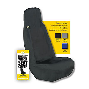 HDD Universal Fit Front Car Seat Cover BLUE 202 Heavy Duty