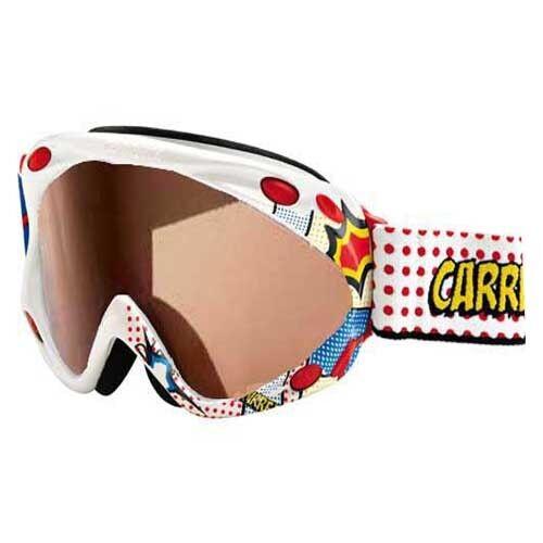 Carrera Kimerik SPH Polarized Lens Weiß Weiß Weiß Comic Goggles NEW 039808