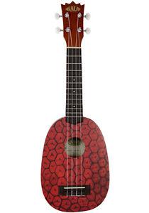 Kala-Pineapple-Soprano-Ukulele-Mahogany-Body-Geared-Tuners-Aquila-KA-PSS