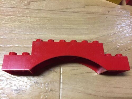 lego duplo 2X6X2 2X8X2 2X10X2 arch bridge curved speical brick block