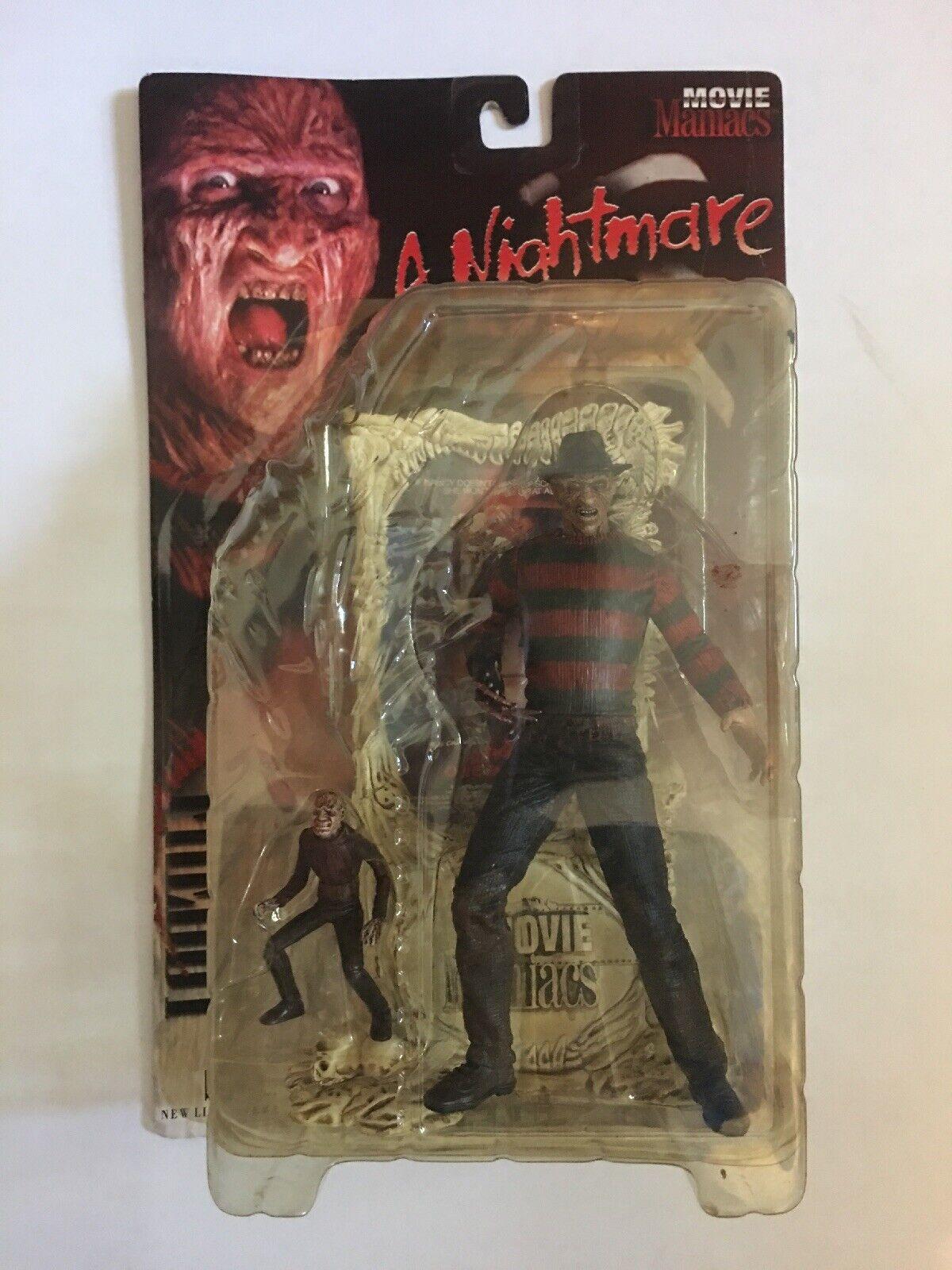 Frojody Krueger Figura extra sangriento Pesadilla en Elm Street Movie Maniacs