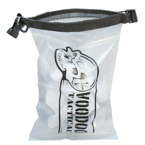CLEAR VooDoo Tactical Waterproof Weapons Pistol Bag Sleeve Cover 8.5 x 14