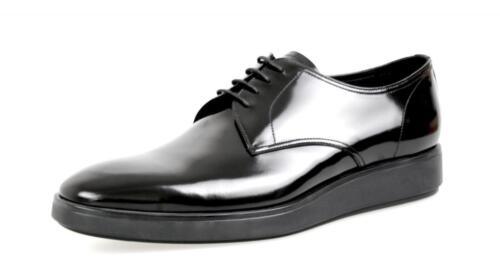 Nuovo Prada Luxury 43 5 Business Nuovo 2ee182 Black 5 44 9 Shoes 6HBqwAB
