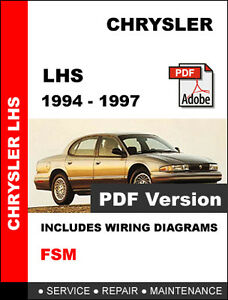 1994 chrysler lhs manual various owner manual guide u2022 rh justk co 1997 Chrysler Concorde 1997 Chrysler Concorde