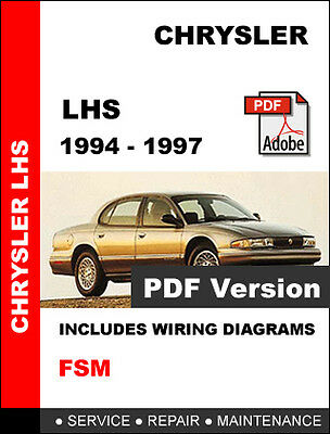 38+ 1996 Chrysler Lhs Wiring Diagram Images