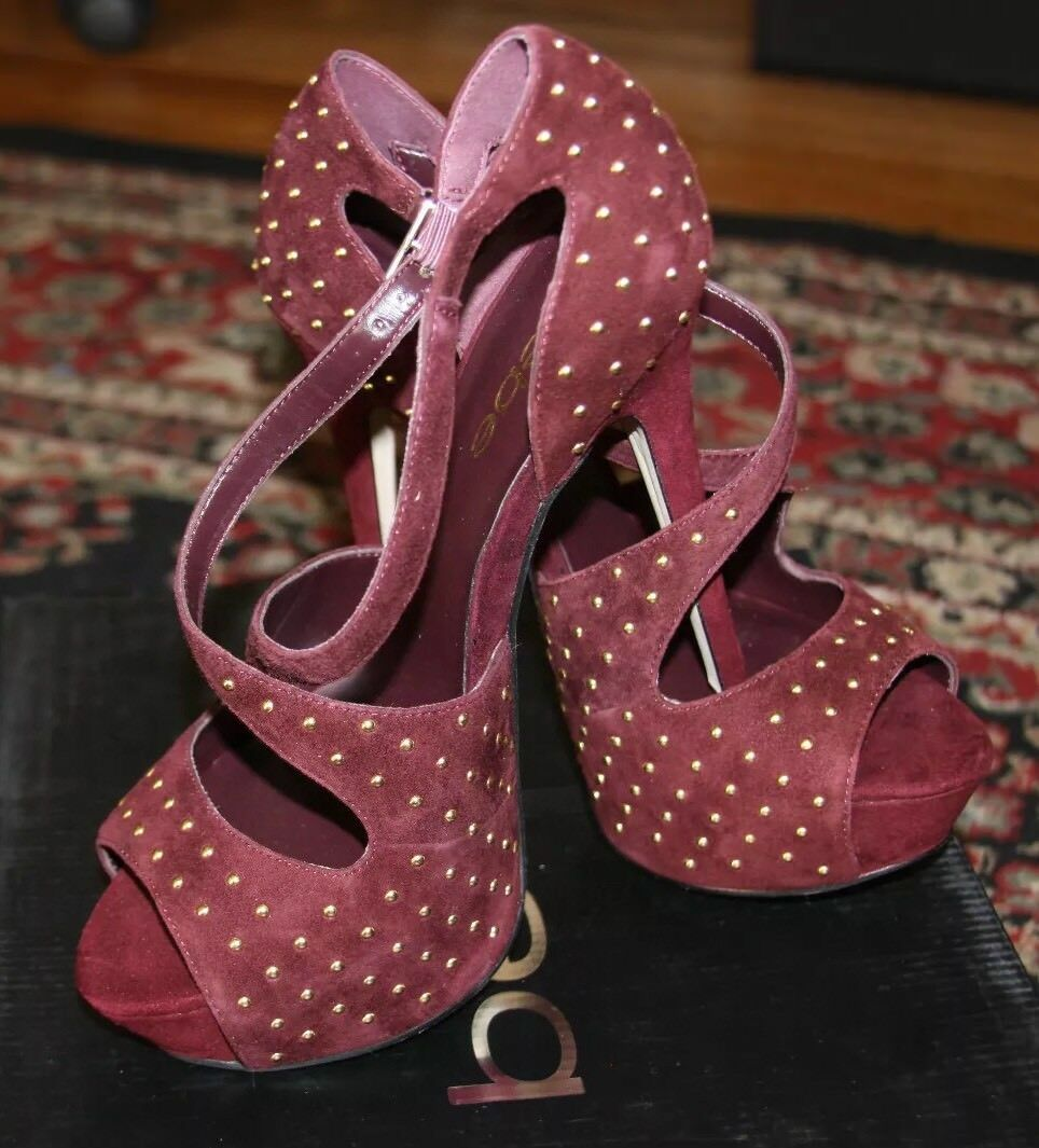 Bebe WINNIE CROSSOVER SANDALS SANDALS CROSSOVER SIZE 7 8831aa
