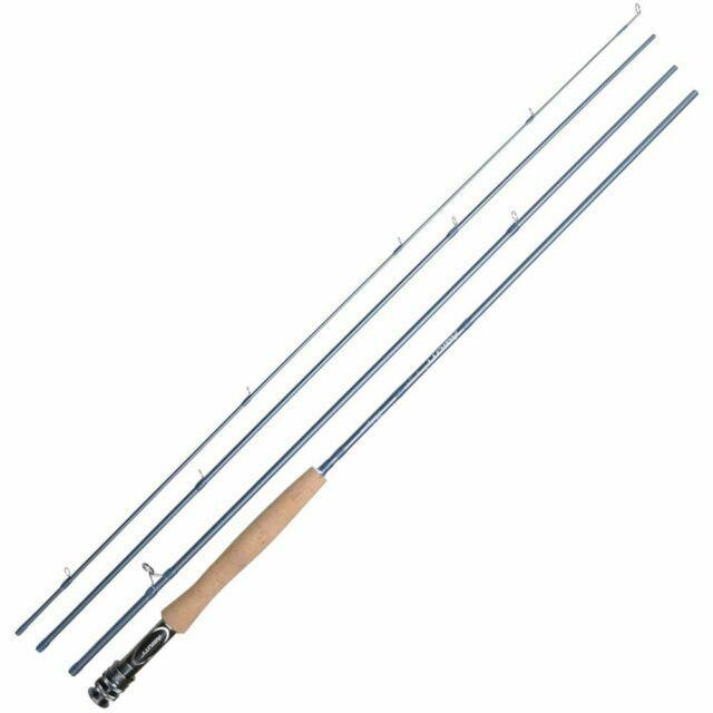 #3 4pc 1381000 Nouveau Shakespeare Agilité 2 Fly Fishing Rod 10 ft environ 3.05 m