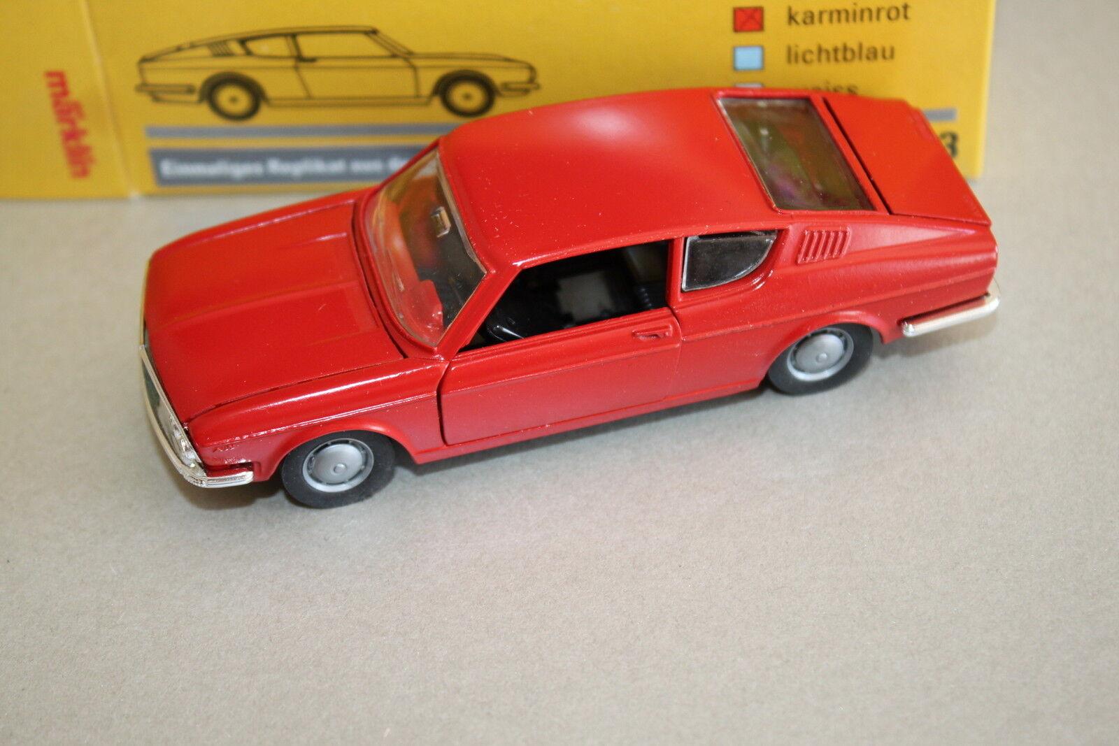 Märklin 18103-03 Modellauto Audi 100 Coupé 1 43 in Farbvarianten OVP    Qualitativ Hochwertiges Produkt