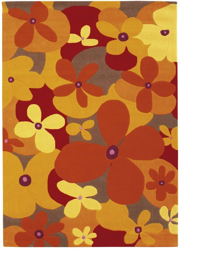 Arte Espina tapis JOY Flower Orange 205-28 Nouveau