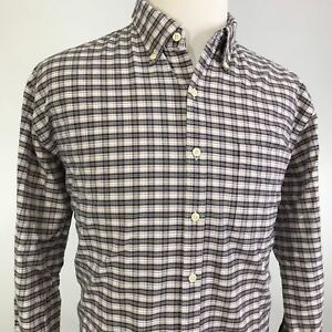 PETER-MILLAR-CROWN-VINTAGE-LONG-SLEEVE-PLAID-BUTTON-DOWN-SHIRT-MENS-SIZE-XL