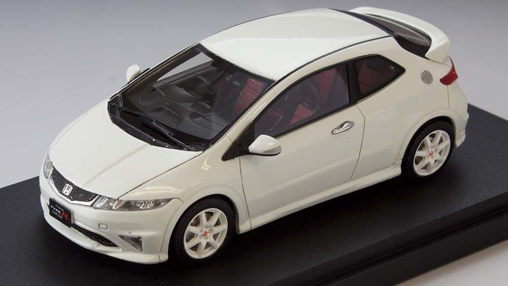 Honda civic type r euro (fn2) - weiße marke 43 1   43   pm4347w