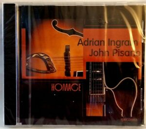 John-Pisano-amp-Adrian-Ingram-CD-HOMAGE-String-Jazz-2001-Like-New