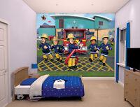 Fireman Sam Walltastic Wallpaper Mural For Kids Bedrooms
