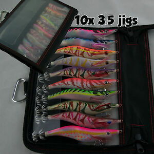 10x-Squid-Jig-3-5-Multi-Egi-Color-Jig-Tackle-Bag-Egi-Bait-Lure-Fishing-Tackle