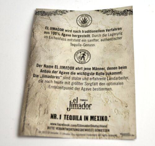 El Jimador Tequila Canvas Wallet Purse Wallet Wallet Black