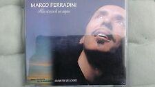 FERRADINI MARCO - ALLA RICERCA DI UN SOGNO PROMO CD SINGOLO 1 TRACK