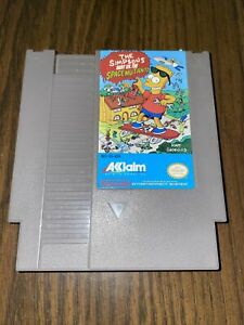 THE SIMPSONS: BART VS. SPACE MUTANTS Vintage Nintendo NES Video Game Cartridge
