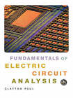 Fundamentals of Electric Circuit Analysis by Clayton R. Paul (Paperback, 2000)