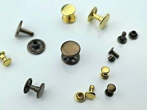 Hueco-Remaches-Cabeza-Doble-Inoxidable-Laton-6mm-7mm-9mm-10mm-13mm-Gelb