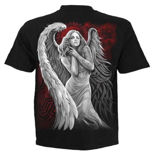 SPIRAL DIRECT ANGEL DESPAIR T-Shirt//Tattoo//Skull//Angel//Soul//Wings//New//Top//Tee