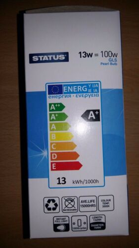13w GLS LED Light Bulb Warm White BC B22 ES E27 1 2 4 10 Bulbs 100w Value