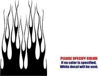 Hot Rod Hood Flames 002 Decal Sticker Jdm Vinyl Graphics Car Window Bumper 35
