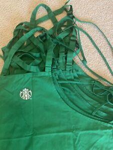 Starbucks Green Apron - Used - Barista Uniform 2020