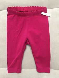 New-Baby-Girl-Tea-Purple-Pants-Legging-Size-3-6-Month