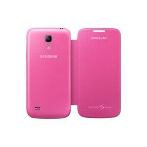 Samsung-Flip-Premium-Case-Cover-for-Samsung-Galaxy-S4-Mini-Pink