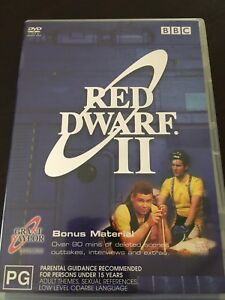 034-Red-Dwarf-Series-2-034-DVD-2003-2-Disc-Set-PAL-Reg-4-Bonus-Material-VGC
