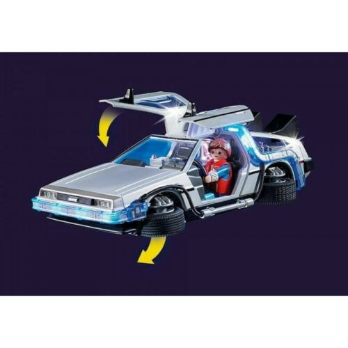 Playmobil 70317 Back to the Future DeLorean Time-Machine Playset