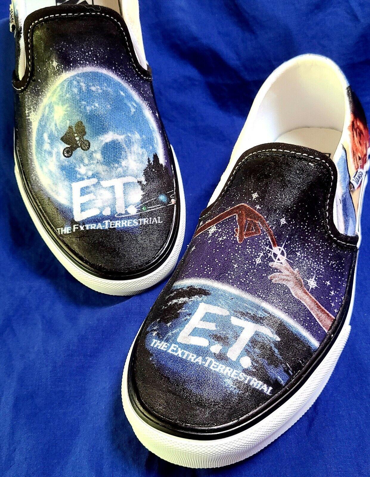 VANS ET Inspired hand Detailed Slip On Mens shoes