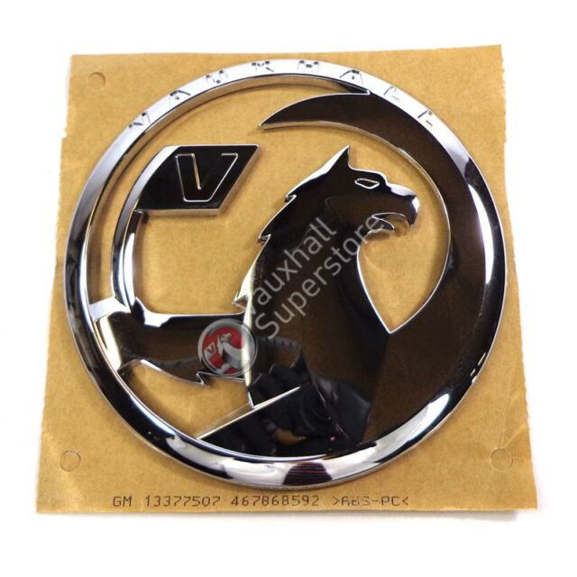 GENUINE VAUXHALL NEW STYLE GRIFFIN BADGE LOGO CORSA D TAILGATE BOOT 13377507