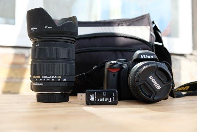 Nikon D40, God