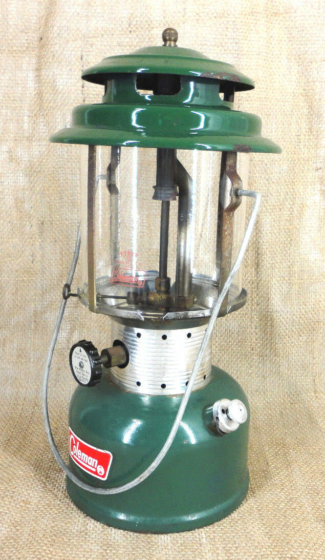 COLEMAN Vintage Double Mantle  Lantern Dated 8-71 Model 220F (Untested)  fashion