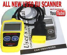 Renault Megane OBDII Fault Code Reset 2001 Scan Tool Diagnostic OBD2