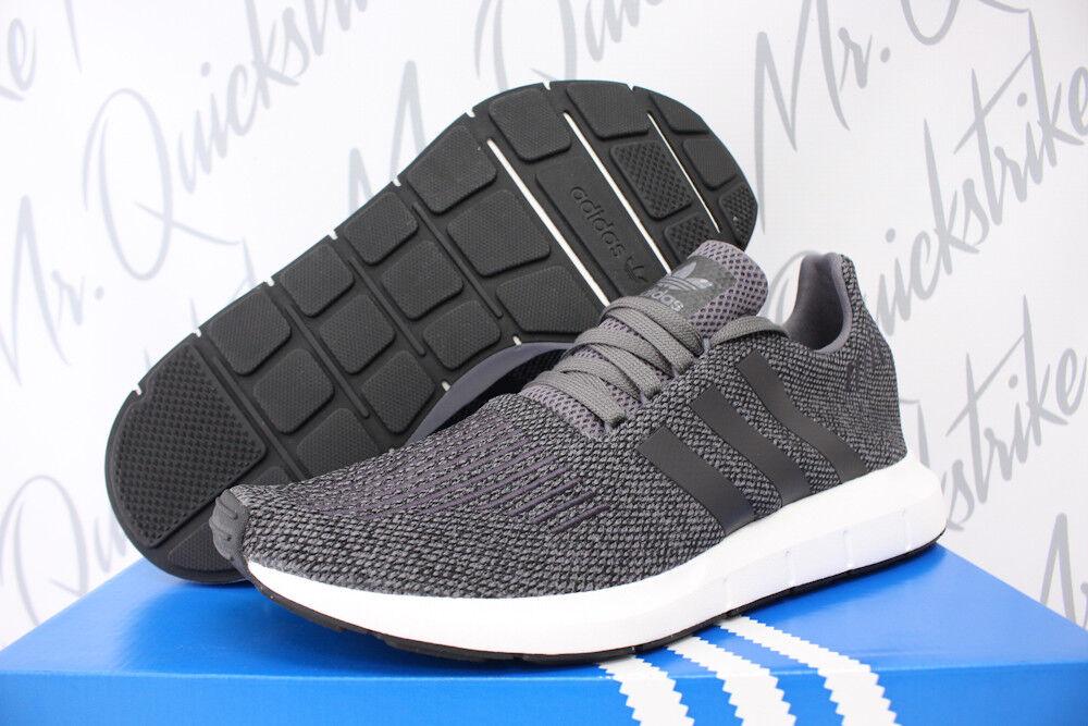 adidas swift dunklen laufen pk sz 8,5 dunklen swift grau - schwarz - weiße primeknit laufschuh cg4116 8af178