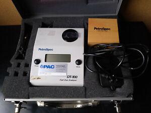 Petrospec DT-100C fuel dye analyzer w/ case base not working