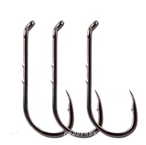 100PCS Fishing Hooks Jig Big High Carbon Steel Bait Holder-Fishhook 5 Sizes Lot