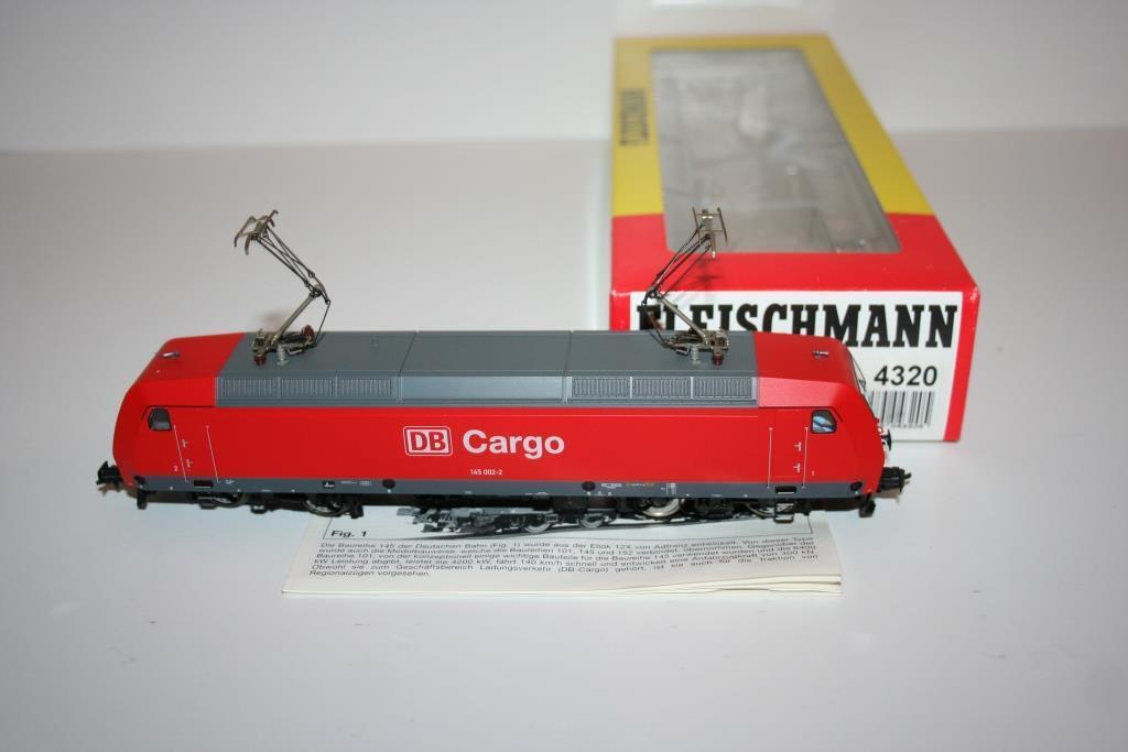Fleischmann Spur H0  4320 Elektrrolokomotive BR 145 000 -2 der DB, OVP