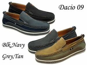 acd938f7bb8 Men Brixton Boat Shoes Driving Moccasins Slip On Loafers Size 7.5 ...
