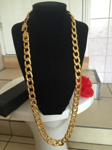 Polímero protegido SG1503 18K Collar Cadena De Oro Plateado Moda Regalo De Cumpleaños
