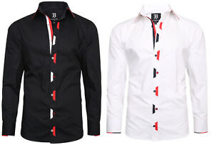 Men/'s Shirt Italian Formal Shirts Dress Designer Cotton Shirts Regular Fit
