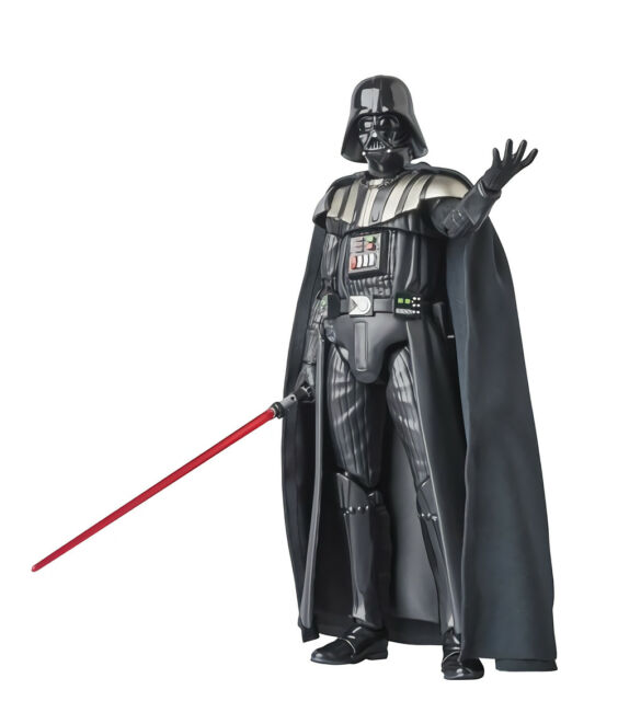 "New Star Wars 2005 Darth Vader Revenge Of The Sith ROTS 3.75/"" Action Figure Toy"