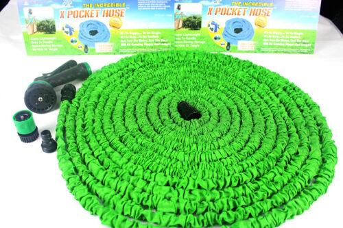 Flexibler Wasserschlauch 15m Gartenschlauch Flexi Hose Magic Schlauch Dehnbar