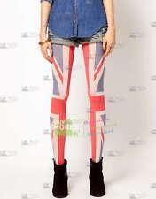 Union Jack Flag Kawaii Japanese Harajuku Girls Tattoo Tights Pantyhose Leggings
