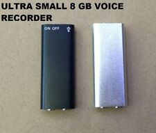 more than  100 hours 8GB  Voice Recorder  world best digital recording quality