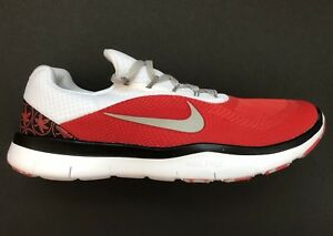 check out 9a2bd 487fe Image is loading Nike-Ohio-State-Buckeyes-Free-Trainer-V7-Week-